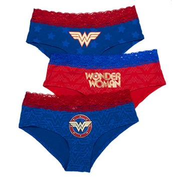 many styles baby amazing quality WONDER WOMAN 3 Pack Women's Underwear