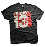 Friday the 13th T-Shirt Block Logo