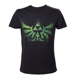The Legend of Zelda T-Shirt Green Zelda Logo
