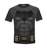 DC COMICS Batman vs Superman: Dawn of Justice Kids Boy Batman Costume T-Shirt, 10/140, Multi-Colour