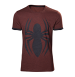 MARVEL COMICS Adult Male Spider-Man Logo T-Shirt, Large, Crimson Red