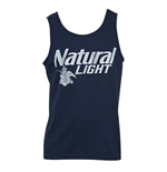 NATURAL LIGHT Faded Blue Tank Top