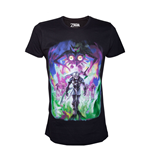 NINTENDO Legend of Zelda Men's Majora's Mask Dark Link T-Shirt, Extra Large, Black