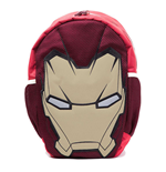 MARVEL COMICS Iron Man Unisex Shaped Mask Backpack, One Size, Multi-Colour