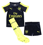 2016-2017 Arsenal Third Cup Little Boys Mini Kit