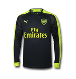 2016-2017 Arsenal Puma Third Cup Long Sleeve Shirt