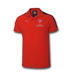 2016-2017 Arsenal Puma Casual Performance Polo Shirt (Red) - Kids