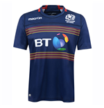 2016-2017 Scotland 7s Poly Home Rugby Shirt