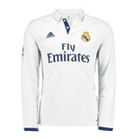 2016-2017 Real Madrid Adidas Home Long Sleeve Shirt