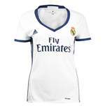 2016-2017 Real Madrid Adidas Womens Home Shirt