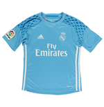 2016-2017 Real Madrid Adidas Home Goalkeeper Shirt (Kids)