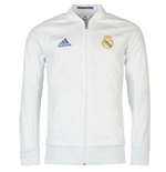 2016-2017 Real Madrid Adidas Anthem Jacket (White) - Kids