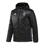 2016-2017 Real Madrid Adidas Padded Jacket (Black)