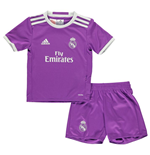 2016-2017 Real Madrid Adidas Away Mini Kit