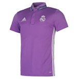 2016-2017 Real Madrid Adidas Polo Shirt (Purple)