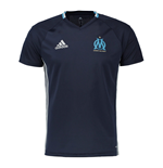 2016-2017 Marseille Adidas Training Shirt (Night Navy)