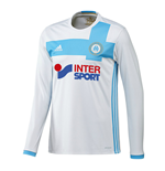 2016-2017 Marseille Adidas Home Long Sleeve Shirt