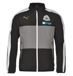 2016-2017 Newcastle Puma Leisure Jacket (Black) - Kids