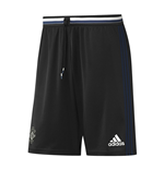 2016-2017 Man Utd Adidas Training Shorts (Black) - Kids