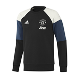 2016-2017 Man Utd Adidas Sweat Top (Black)
