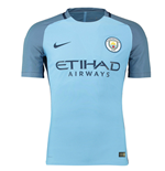 2016-2017 Man City Nike Vapor Home Match Shirt