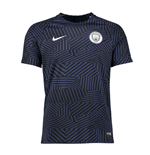 2016-2017 Man City Nike Pre-Match Training Shirt (Midnight Navy)