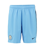 2016-2017 Man City Home Nike Football Shorts (Blue)