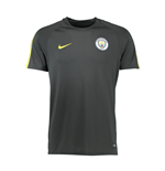 2016-2017 Man City Nike Squad Training Shirt (Dark Grey) - Kids