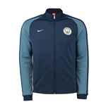 2016-2017 Man City Nike Authentic N98 Track Jacket (Navy)
