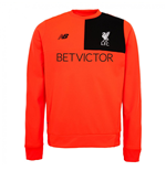 2016-2017 Liverpool Elite Training Sweat Top (Red)