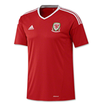 2016-2017 Wales Home Adidas Football Shirt (Kids)