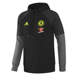 2016-2017 Chelsea Adidas Hooded Sweat Top (Black)