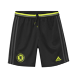 2016-2017 Chelsea Adidas Training Shorts (Black) - Kids