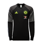 2016-2017 Chelsea Adidas Sweat Top (Black)