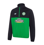 2016-2017 Celtic Training Half Zip Windbreaker (Green)