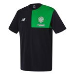 2016-2017 Celtic Elite Training Cotton Tee (Black)