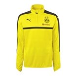 2016-2017 Borussia Dortmund Puma Half Zip Training Top (Yellow) - Kids