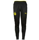 2016-2017 Borussia Dortmund Puma Training Pants (Black)