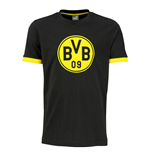 2016-2017 Borussia Dortmund Puma Badge Tee (Black)