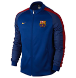 2016-2017 Barcelona Nike Authentic N98 Track Jacket (Royal)) - Kids