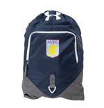 2016-2017 Aston Villa UA Undeniable Sackpack (Navy Cadet)