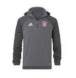 2016-2017 Bayern Munich Adidas Fleece (Granite)