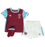 2016-2017 West Ham Home Baby Kit