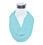 Light Blue Flask Scarf