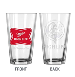 MILLER High Life Pint Glass