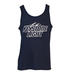 Men's KEYSTONE LIGHT Navy Blue Tank Top