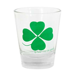 4 Leaf Clover Shot Glass