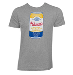 HAMM'S Heather Grey Men's Can Tee Shirt