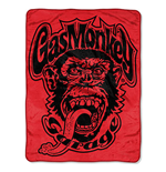 Gas Monkey Super Plush Throw Blanket