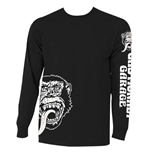 Gas Monkey Long Sleeve Logo Tee Shirt